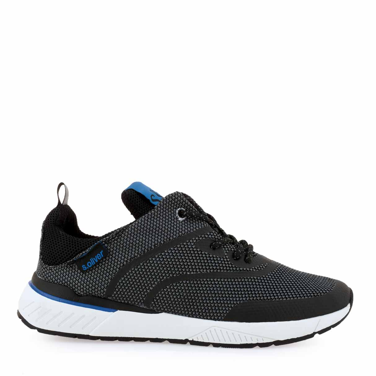 S OLIVER SNEAKERS I593S6072 - ΜΑΥΡΟ  f8ea56986eb